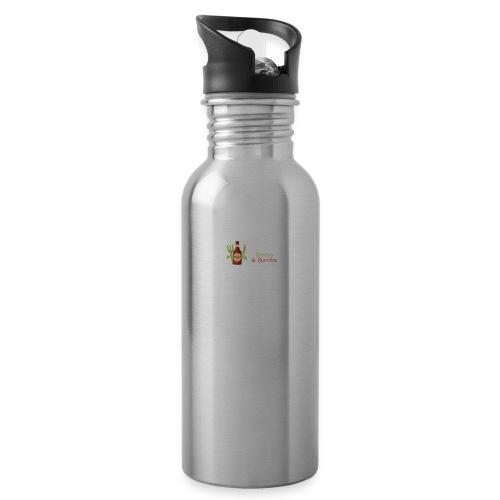Beers & Burritos Logo - Water Bottle