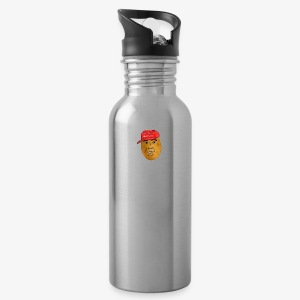 maga potato logo - Water Bottle