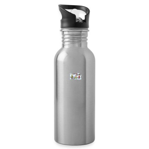 Ed , Edd , And Eddy - Water Bottle