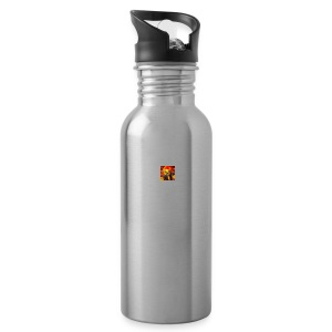 BIG CRAZY APPLE LOGO - Water Bottle