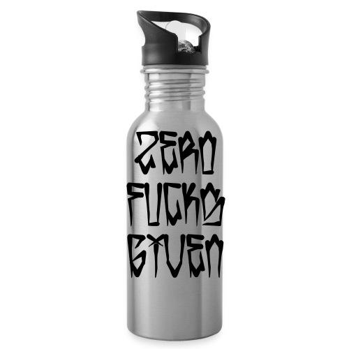 Zero Fucks Given - Water Bottle