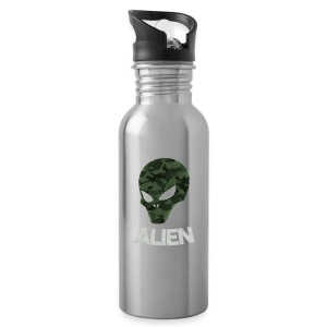 Military Alien - Water Bottle