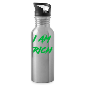 I AM RICH (WASTE YOUR MONEY) - Water Bottle