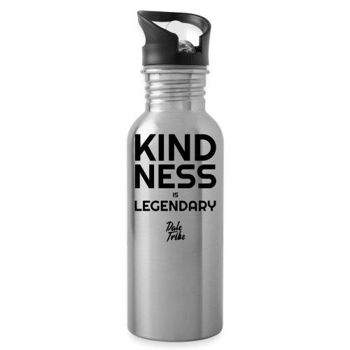 KINDNESS IS LEGENDARY BLACK - Water Bottle