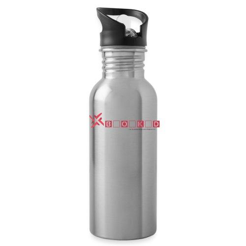 negativity blocked final file png - Water Bottle