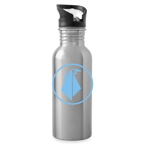 EMPEROR PENGUINS Blue Penguin Logo - Water Bottle