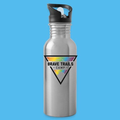 Brave Trails Triangle Logo - Water Bottle