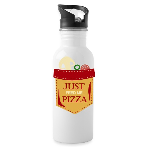 Just feed me pizza - Water Bottle