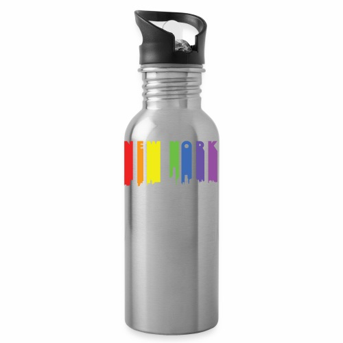 New York design Rainbow - Water Bottle