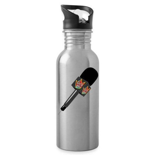 MicrophoneORG Tshirt png - Water Bottle