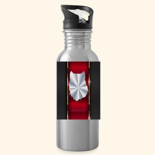 Wolf White Metallic iphone case - Water Bottle