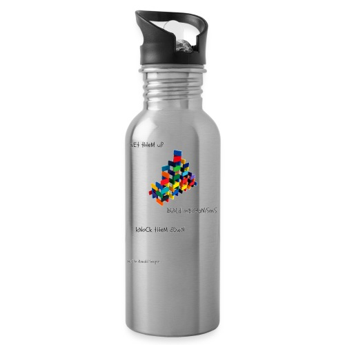 Hi I'm Ronald Seegers Collection-dominoes - Water Bottle