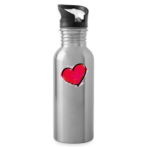 heart 192957 960 720 - Water Bottle
