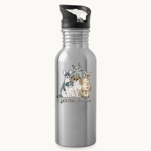 CATS - SENTIENT BEINGS - Carolyn Sandstrom - Water Bottle