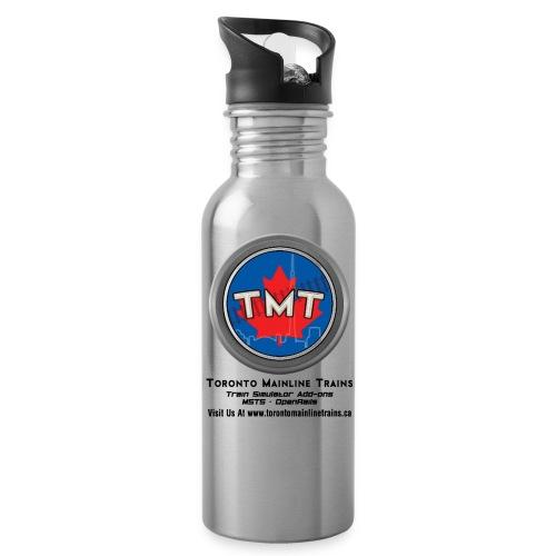 TMT Black Letters Version2 - Water Bottle