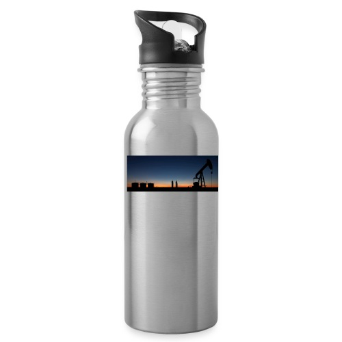 sunset_south_texas - Water Bottle