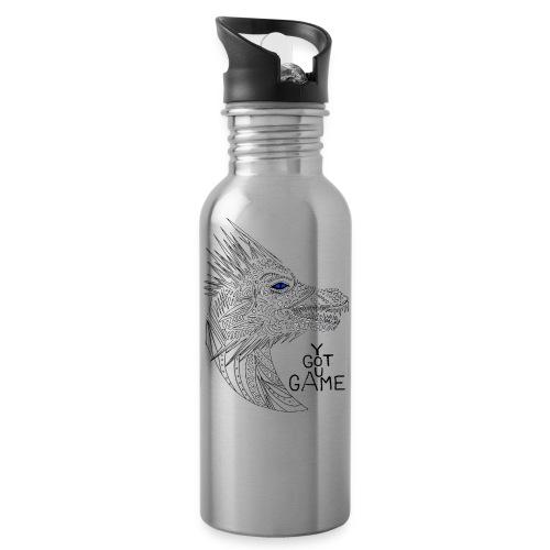 Blue eye dragon - Water Bottle