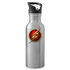 the_flash_logo_by_tremretr-d8uy5gu - Water Bottle