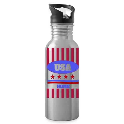 US Flag case - Water Bottle