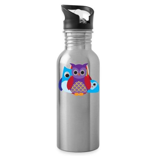 Cute Owls Eyes - Water Bottle