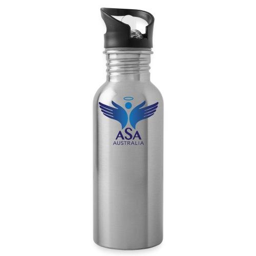 3459 Angelman Logo AUSTRALIA FA CMYK - Water Bottle