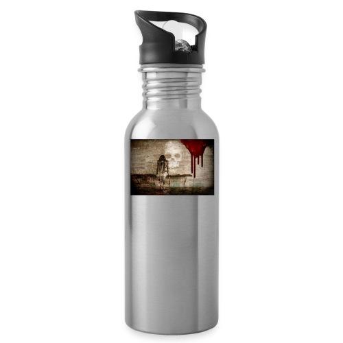 sad girl - Water Bottle