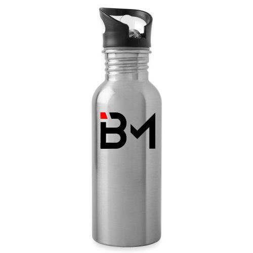 bench mob logo no lettering (black) - Water Bottle