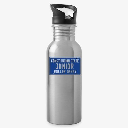 Constitution State Junior Roller Derby - Water Bottle