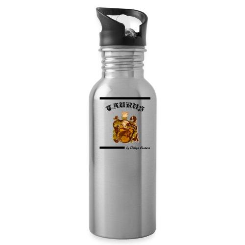 TAURUS BLACK - Water Bottle