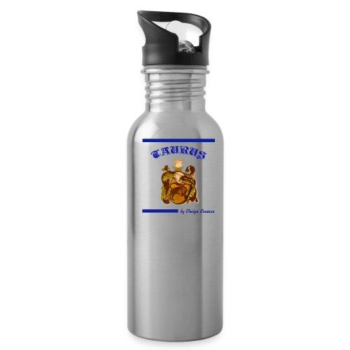 TAURUS BLUE - Water Bottle