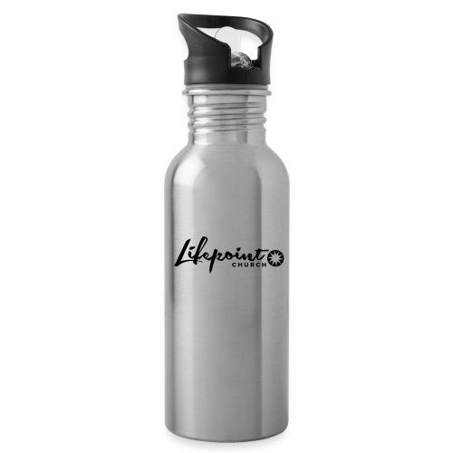 Logo Horizontal Black - Water Bottle
