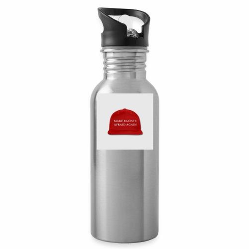 make racists afraid again snap back baseball cap - Water Bottle