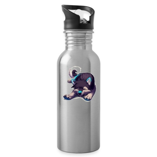 cute wolf - Water Bottle