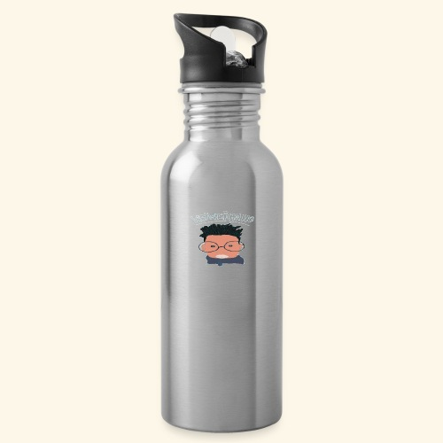 weiweigang logo edit - Water Bottle