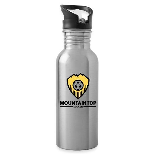 Mountaintop Soccer Association Logo - Water Bottle