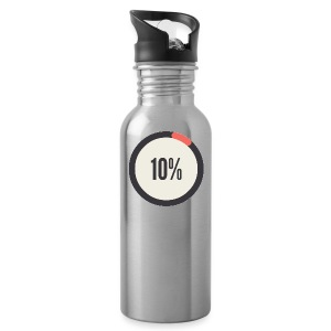 10% Album - Water Bottle