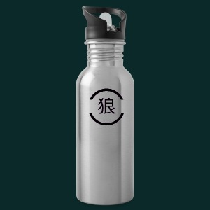 Wolf-japanese - Water Bottle