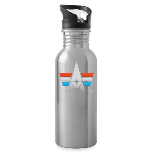 BHK Icon full color stylized TM - Water Bottle