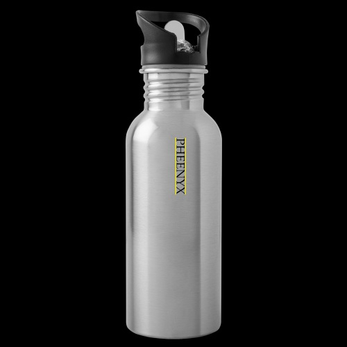 Pheenyx logo black - Water Bottle