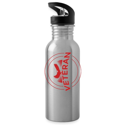 Veteran Soldier Military - Water Bottle