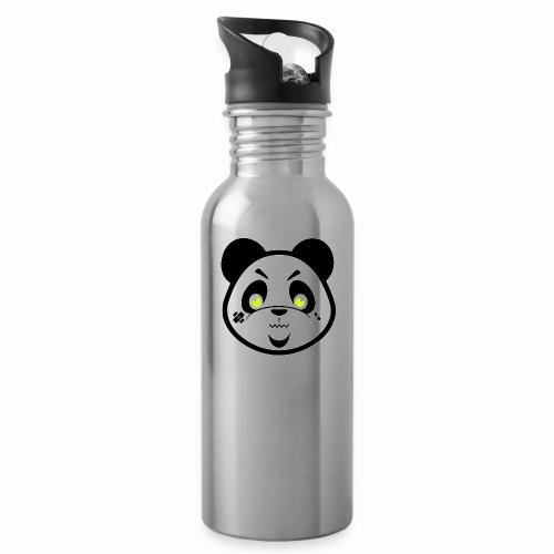 #XQZT Mascot - Focused PacBear - Water Bottle
