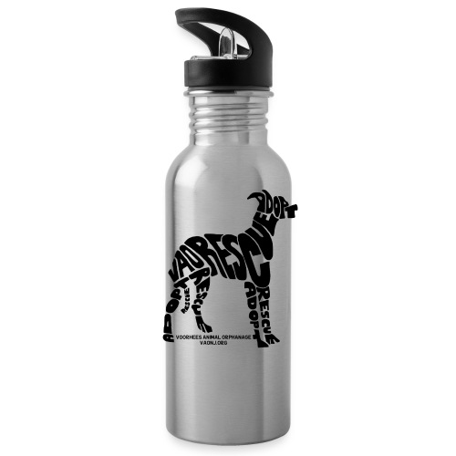 Words Dog png - Water Bottle