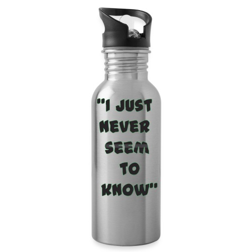 know png - Water Bottle