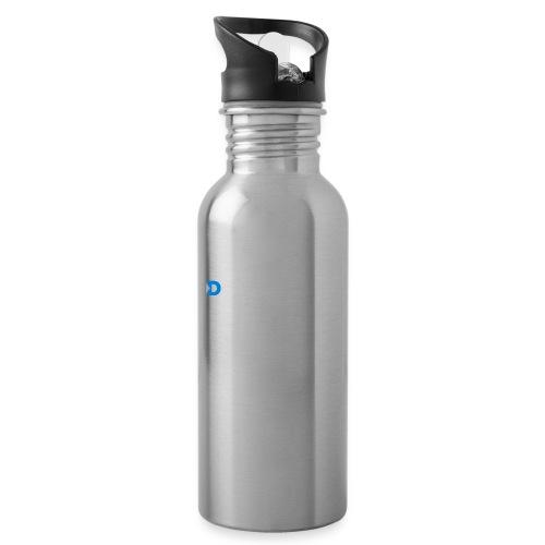 QD logo all white - Water Bottle