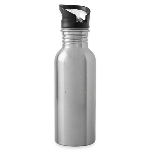 MLFF with logo white - Water Bottle