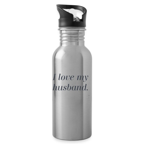 I Love My Husband - Water Bottle