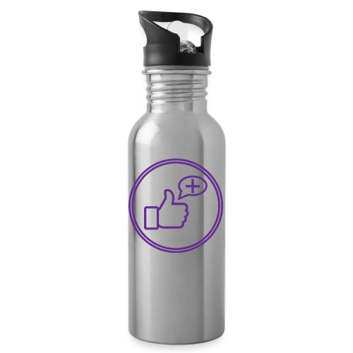 Stay Positive Icons - Water Bottle