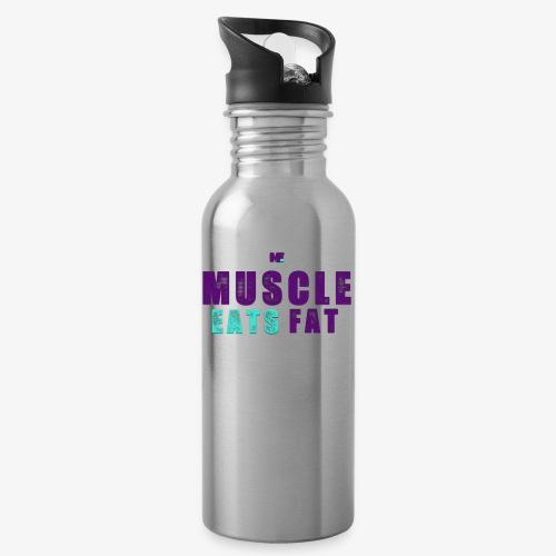 Muscle Eats Fat (Hornets Edition) - Water Bottle