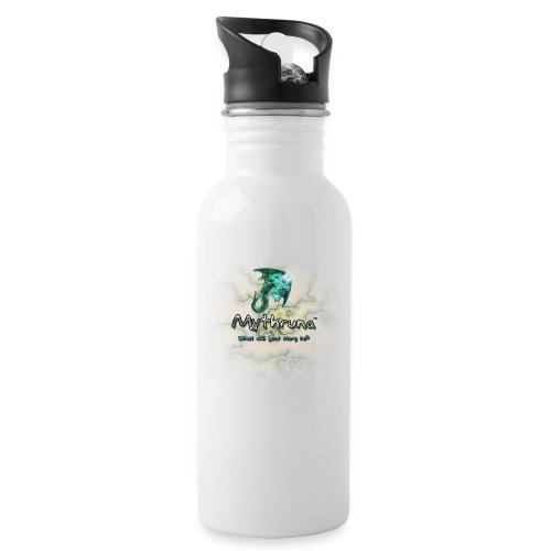 MythrunaWorld BlueText - Water Bottle