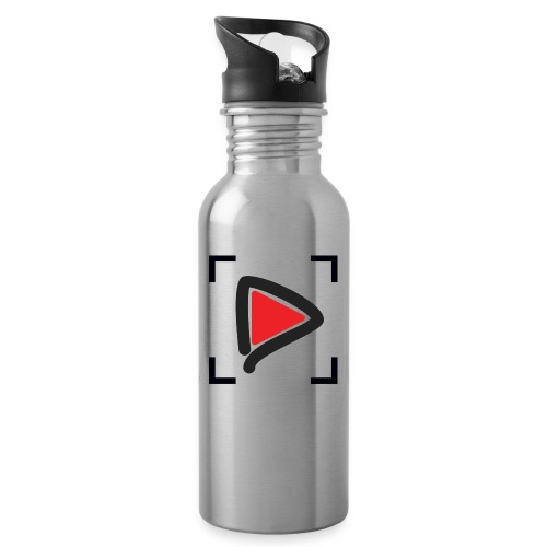 HTMGV play, clear - Water Bottle